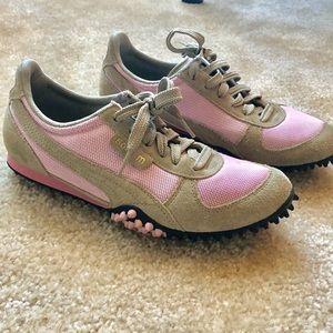 Puma Sneakers Womens 500m Pink 8.5 Track Running